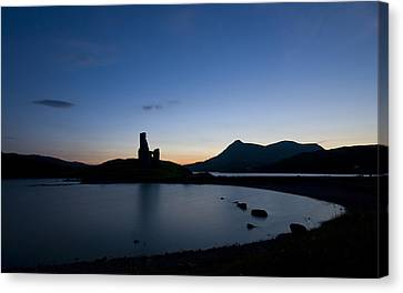 Ardvreck Castle Canvas Print by Laura Melis