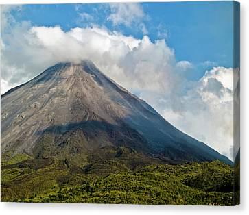 Arenal Volcano Costa Rica Canvas Print by Jim DeLillo