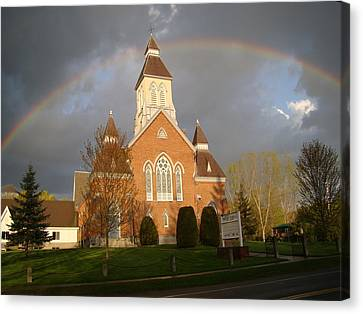 Argyle Presbyterian Church Canvas Print by Mark Haley