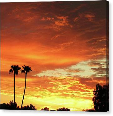Arizona Sunrise 02 Canvas Print