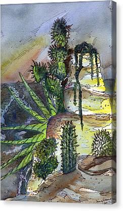 Arizonia Canvas Print - Arizonia Rocks by Mindy Newman