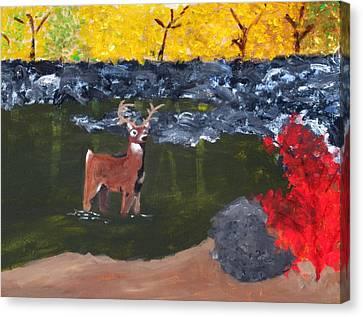 Arkansas Wildlife Canvas Print by Ashley Anthony