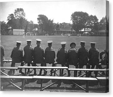 Army Cricket Canvas Print by A Hudson