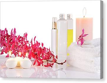 Healthcare And Medicine Canvas Print - Aromatherapy by Atiketta Sangasaeng