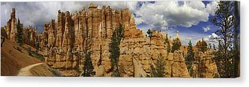 Canvas Print featuring the photograph Around The Bend At Bryce Canyon by Gregory Scott