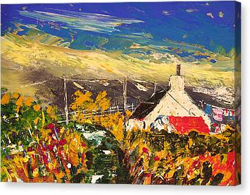 Arran Croft Canvas Print by Peter Tarrant