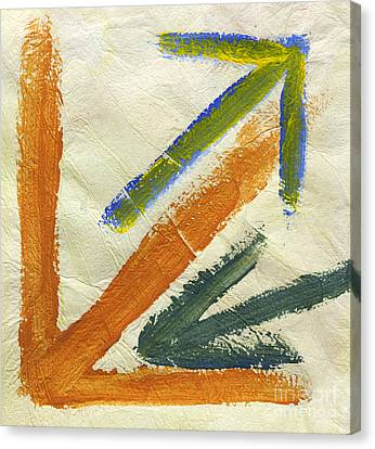 Arrows 9370 Canvas Print by Igor Kislev