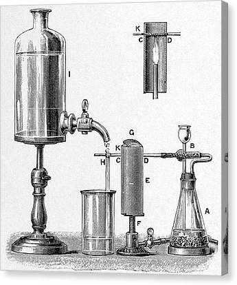 Arsenic Detection, 19th Century Artwork Canvas Print by Middle Temple Library