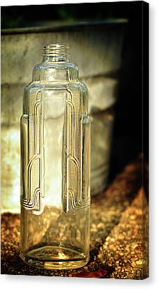 Art Deco Form And Function Canvas Print by Rebecca Sherman