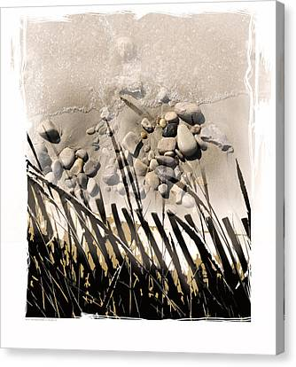 Art In The Sand Series 2 Canvas Print by Bob Salo