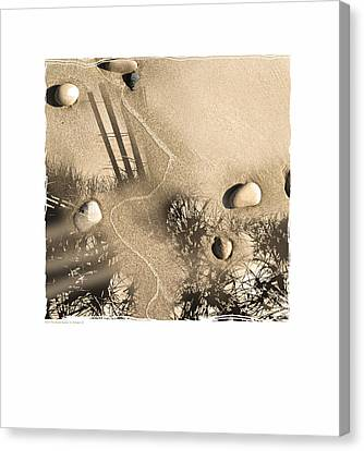 Art In The Sand Series 3 Canvas Print
