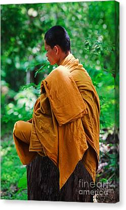 Art Of Meditation II Canvas Print by Pete Reynolds