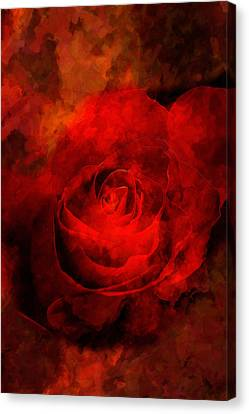 Art Rose Canvas Print by Martin  Fry