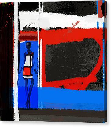 Art Scene Canvas Print by Naxart Studio