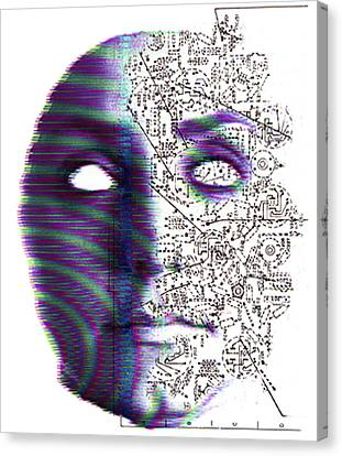 Artificial Intelligence Canvas Print by Neal Grundy