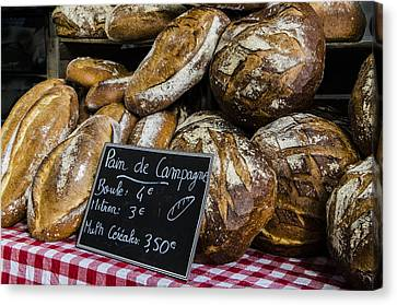 Artisan Bread Canvas Print