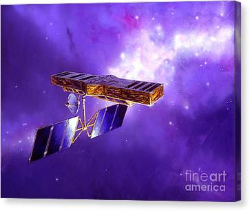 Artists Concept Of Space Interferometry Canvas Print by Stocktrek Images