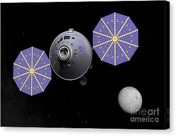 Artists Concept Of The Next Generation Canvas Print by Walter Myers