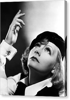 As You Desire Me, Greta Garbo, Portrait Canvas Print