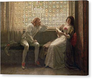 'as You Like It' Canvas Print by Charles C Seton