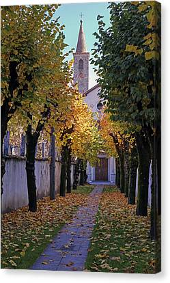 Ascona - Collegio Papio Canvas Print by Joana Kruse