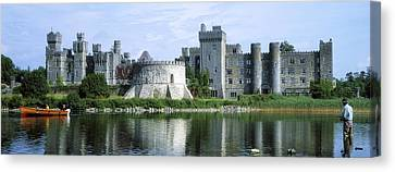 Ashford Castle, Lough Corrib, Co Mayo Canvas Print by The Irish Image Collection