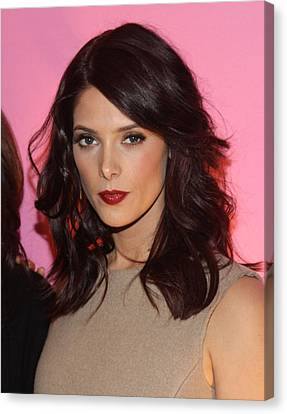 Ashley Greene At Arrivals For Inside Canvas Print by Everett