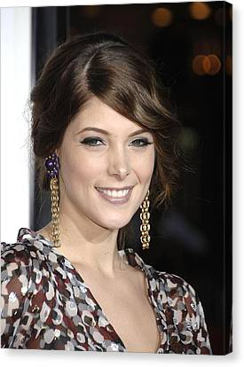 Ashley Greene At Arrivals For Premiere Canvas Print by Everett