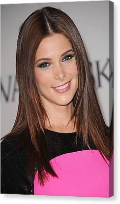 Ashley Greene At Arrivals For The 2011 Canvas Print