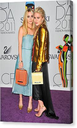 Ashley Olsen Wearing The Row, Mary-kate Canvas Print by Everett
