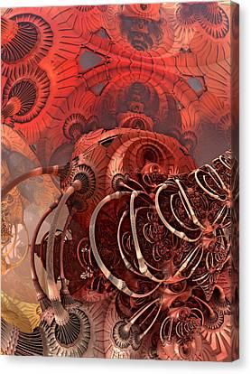 Asimov One Canvas Print by Pam Blackstone
