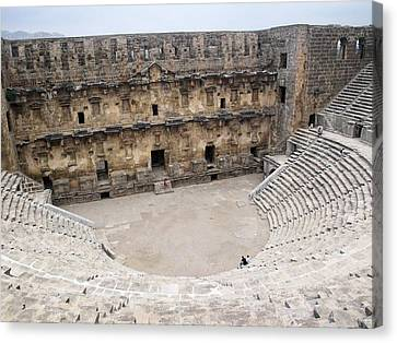 Aspendos Roman Theatre Canvas Print by