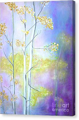 Aspens  Canvas Print by Barbara Anna Knauf