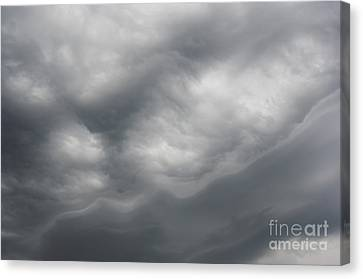 Asperatus - Sky Before Storm Canvas Print by Michal Boubin