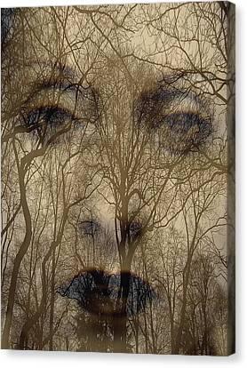 Asphalt - Portrait Of A Lady 2 Canvas Print