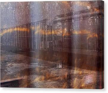 Asphalt Series - 1 Canvas Print