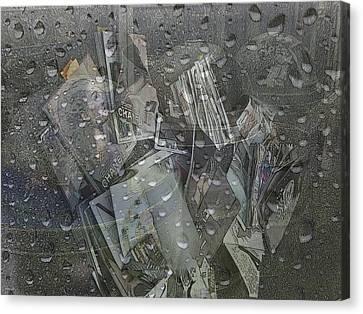 Asphalt Series - 5 Canvas Print