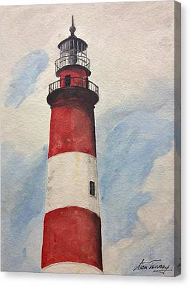 Assateague Lighthouse  Canvas Print