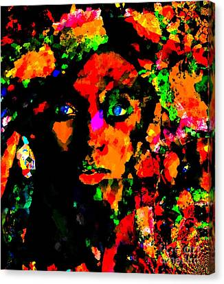 Interpretation Canvas Print - Assemblage Of A Visible Expression by Fania Simon