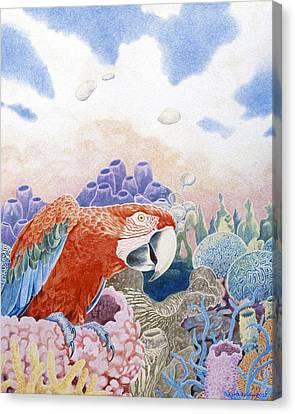 Astarte's Paradise Seven Canvas Print