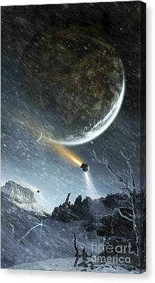 Asteriant Prime Is A Highly Developed Canvas Print by Tobias Roetsch