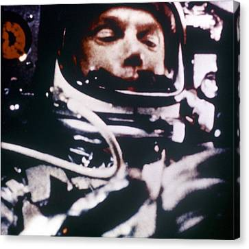 Astronaut John Glenn, Lt. Colonel, Usmc Canvas Print by Everett