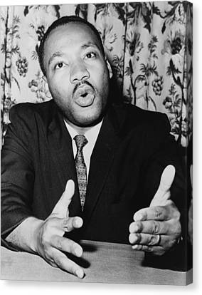 At A Press Conference On June 5, 1961 Canvas Print