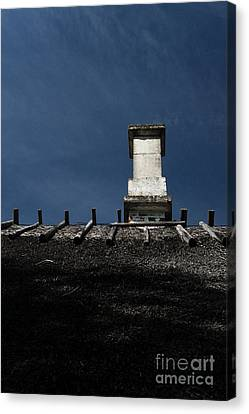 Canvas Print featuring the photograph At Chimney Height by Agnieszka Kubica
