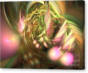 At Dawn - Fractal Art Canvas Print