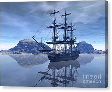 At Destination Canvas Print by Sipo Liimatainen