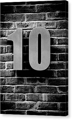 At Number 10 Canvas Print by Jez C Self
