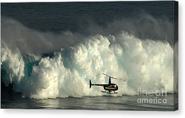 At Peahi Canvas Print