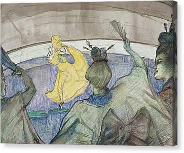 Henri De Toulouse-lautrec Canvas Print - At The Circus by Henri de Toulouse-Lautrec