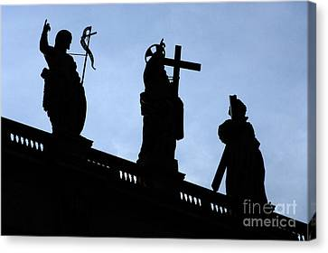 At The Vatican Canvas Print by Bob Christopher